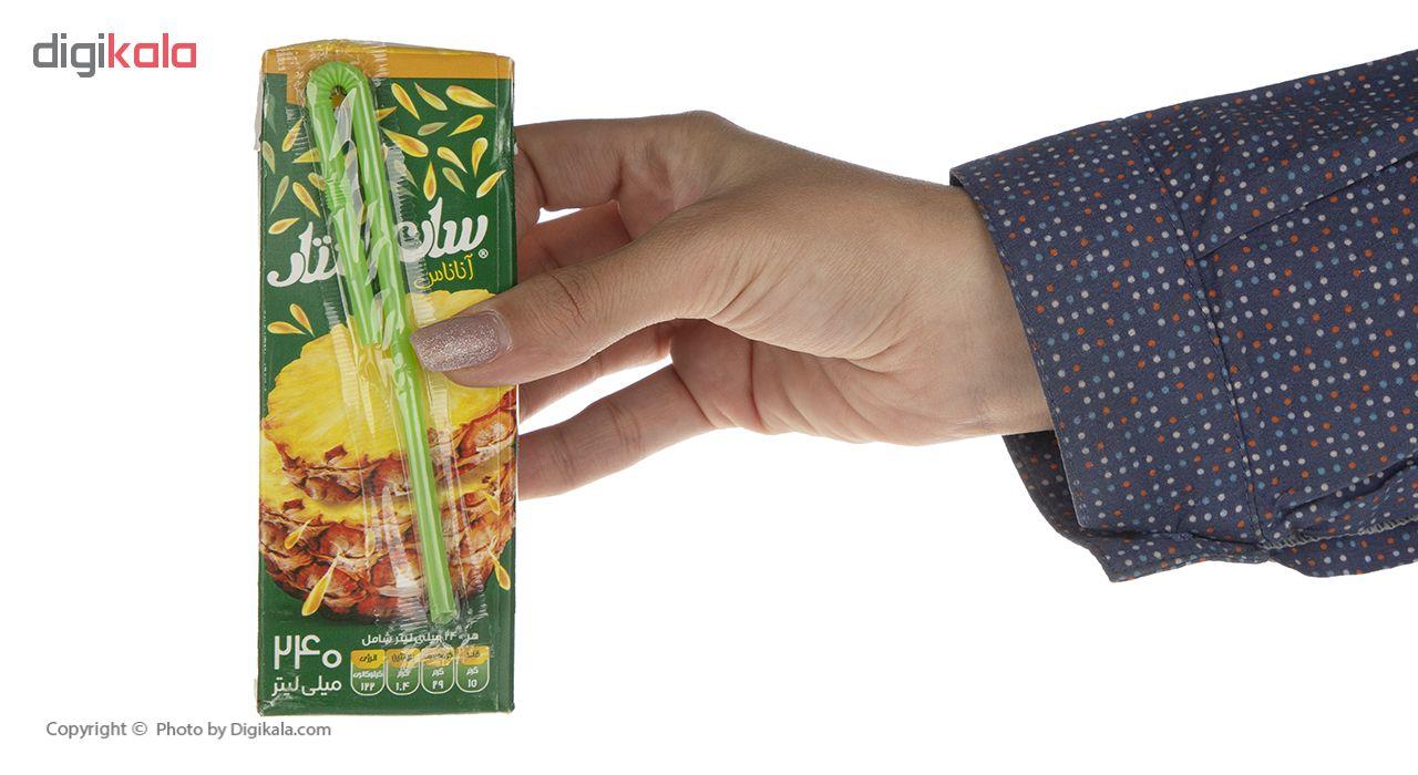 آبمیوه آناناس سان استار حجم 240 میلی لیتر main 1 1