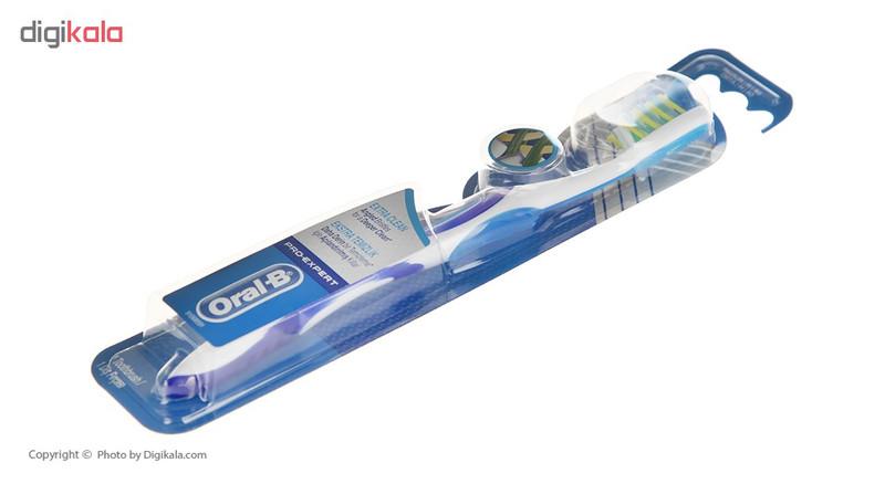 مسواک اورال-بی سری Pro Expert مدل Extra Clean  با برس متوسط