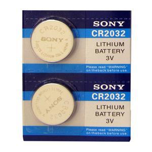 باتری سکه ای سونی مدل CR2032 بسته 2 عددی
