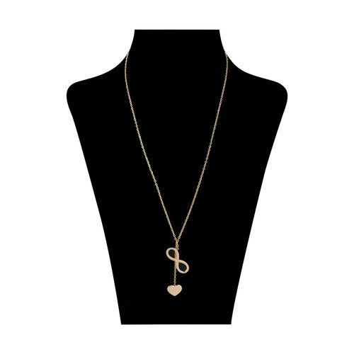 گردنبند طلا 18 عیار زنانه میو استار مدل NC134