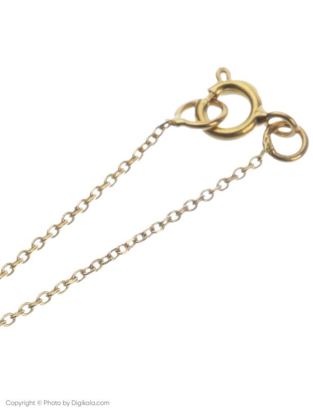 آویز ساعت طلا 18 عیار زنانه میو گلد مدل WTC188