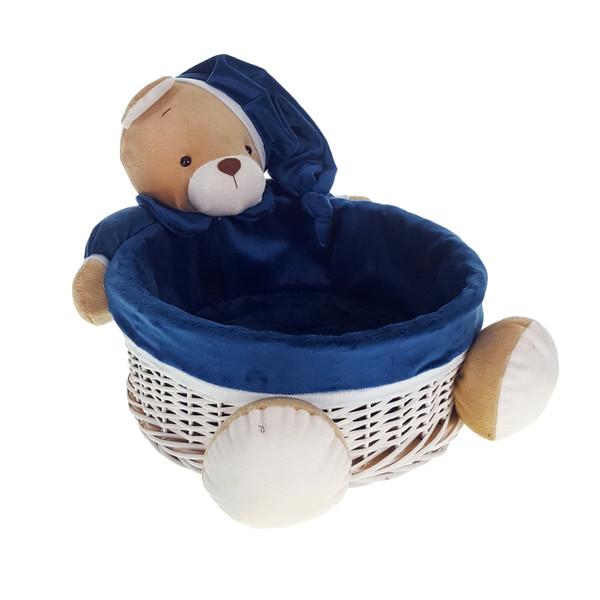 سبد لوسیون اتاق کودک طرح خرس نانان کد LGN02