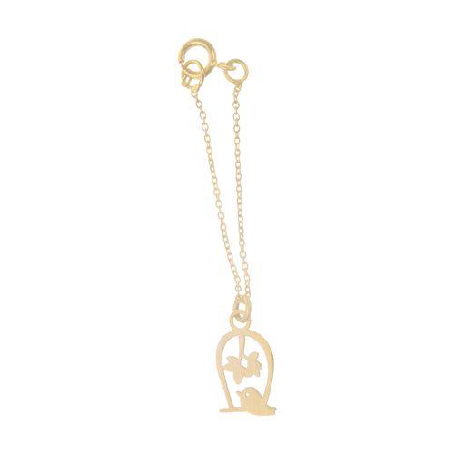 آویز ساعت طلا 18 عیار زنانه میو استار مدل WTC185