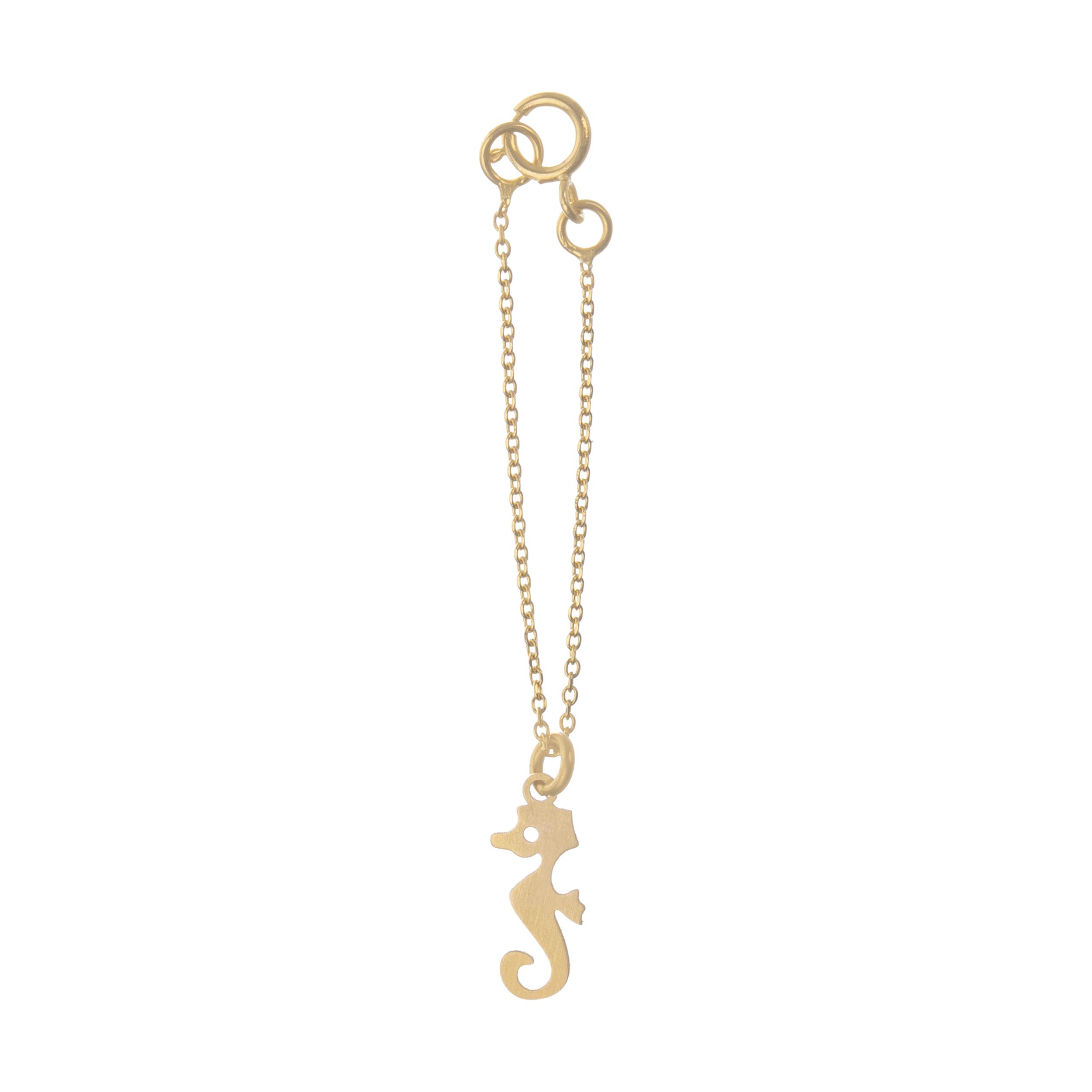 آویز ساعت طلا 18 عیار زنانه میو استار مدل WTC186