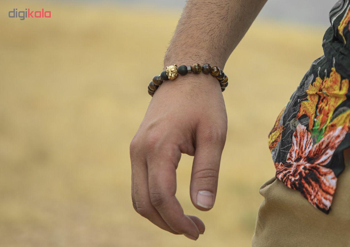 دستبند مردانه ریسه گالری کد T1164 main 1 3