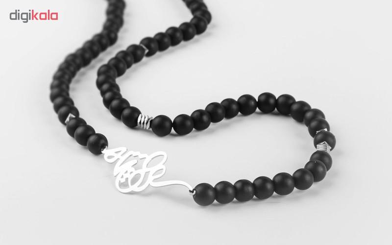 گردنبند نقره مردانه ریسه گالری کد B5031