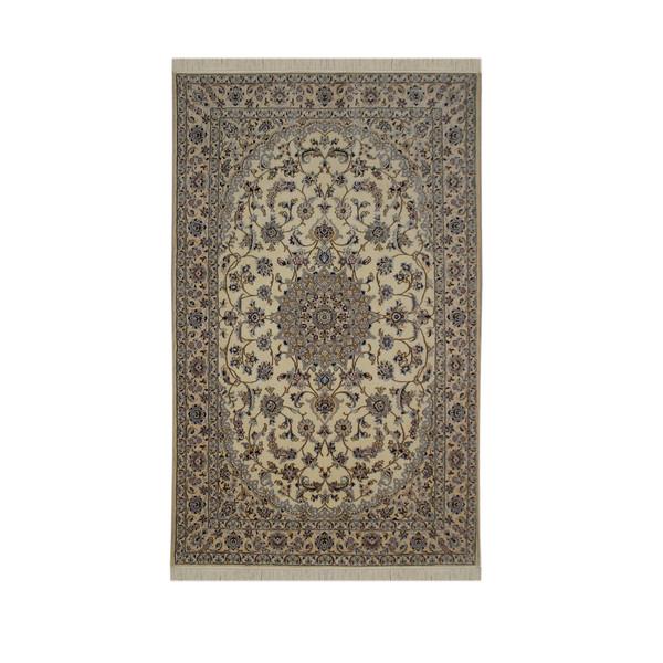 فرش دستبافت چهار و نیم متری مدل نایین کد 1105748