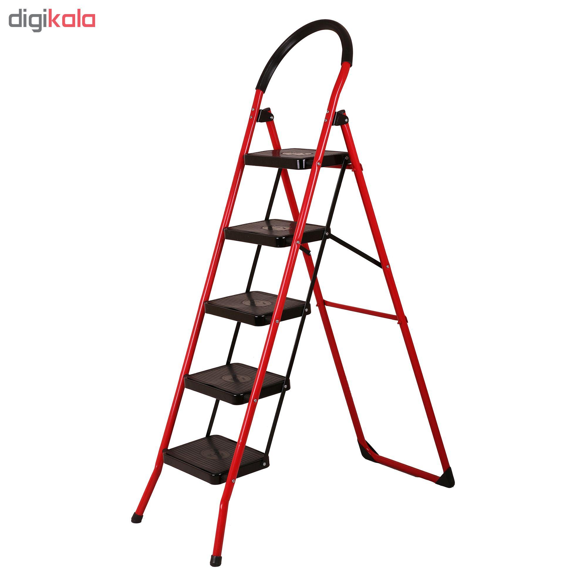 نردبان 5 پله رویال کد 006 main 1 2