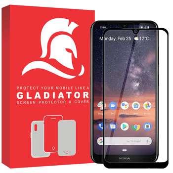 محافظ صفحه نمایش گلادیاتور مدل GPN1000 مناسب برای گوشی موبایل نوکیا 3.2
