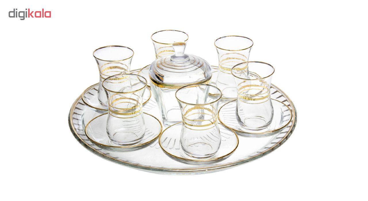 سرویس چای خوری 15 پارچه پاشاباغچه کد 5150
