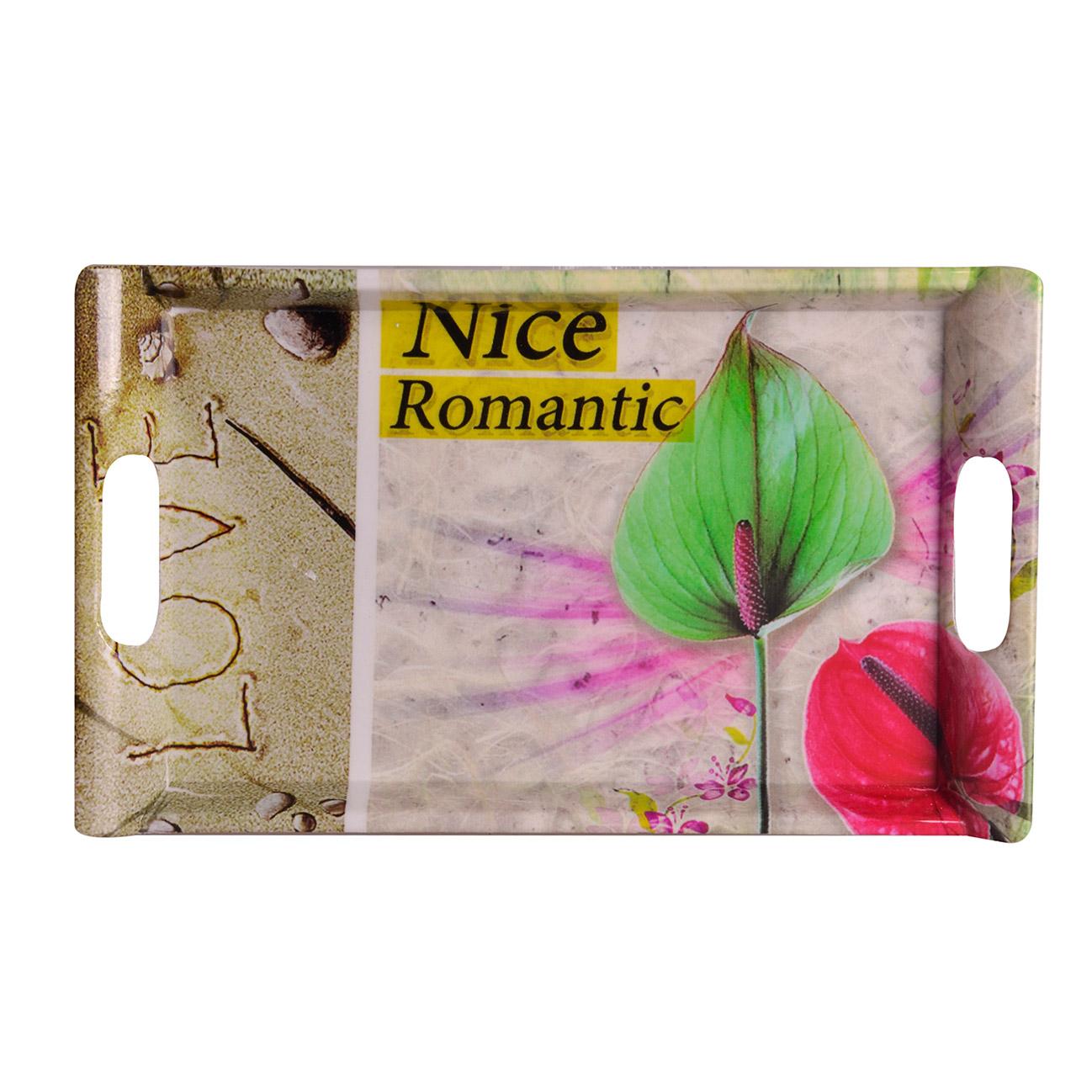 عکس سینی مهروز کد 8820 طرح رمانتیک