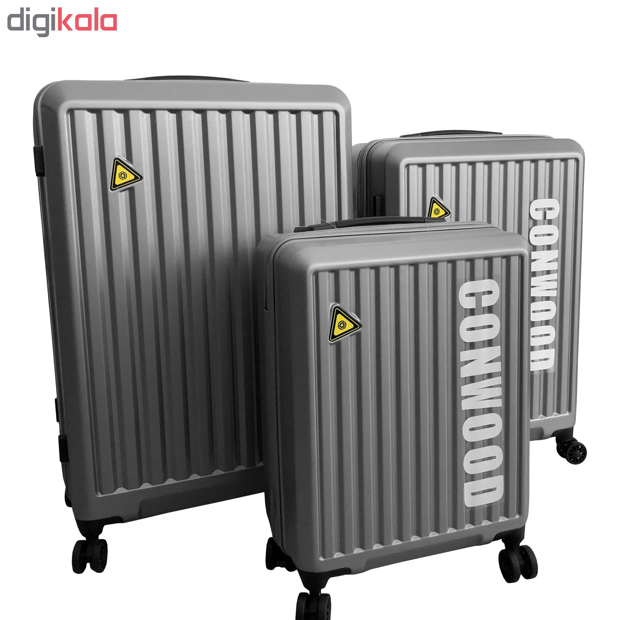 چمدان کانوود کد PCT090 سایز متوسط