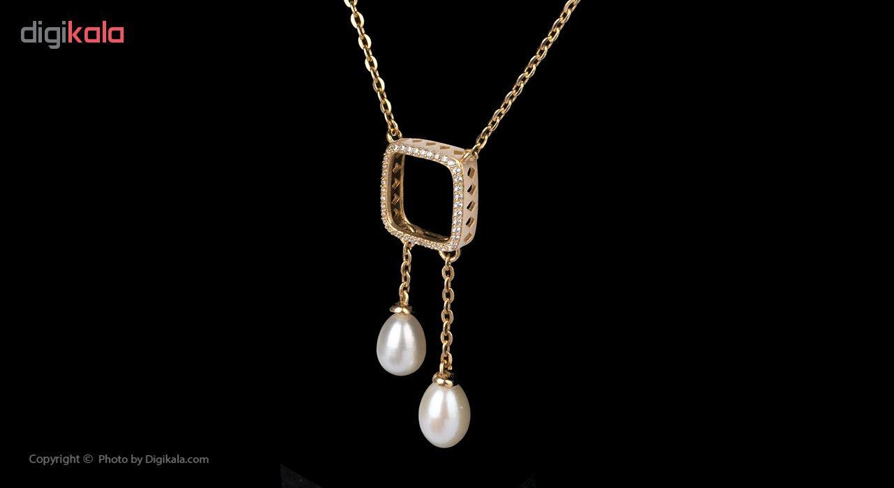 گردنبند طلا 18 عیار زنانه کد ME018TGW164