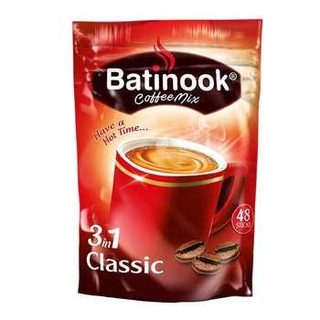 قهوه فوری باتینوک مدل Classic بسته ۴۸ عددی