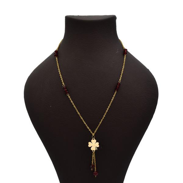 گردنبند طلا 18 عیار زنانه آرشا گالری طرح قلب کد 426A2485
