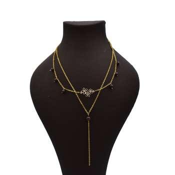 گردنبند طلا 18 عیار زنانه آرشا گالری طرح گل کد 429A2488