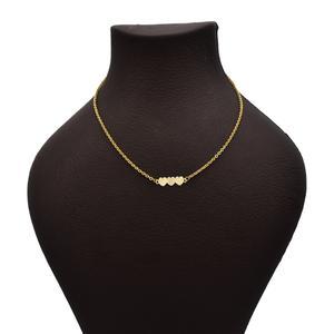 گردنبند طلا 18 عیار زنانه آرشا گالری طرح قلب کد 430A2489