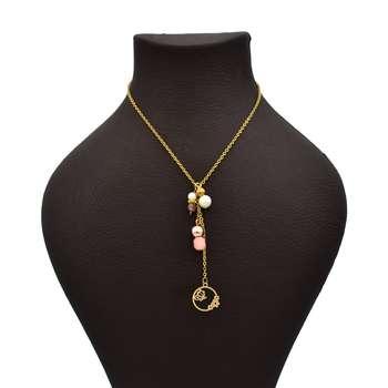 گردنبند طلا 18 عیار زنانه آرشا گالری طرح پروانه کد 432A2491