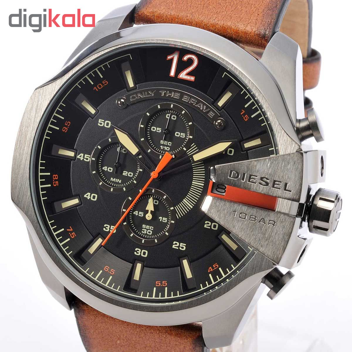 ساعت مچی عقربه ای مردانه دیزل کد DZ4343