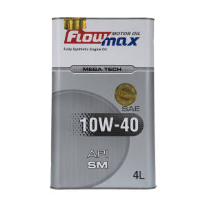روغن موتور خودرو فلومکس مدل HIGH TECH 10W40 حجم 4 لیتر