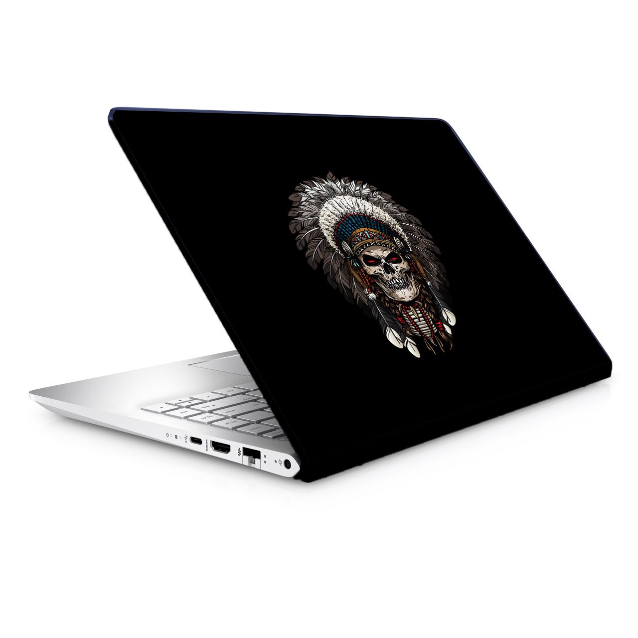 استیکر لپ تاپ طرح اسکلت مدل TIE336 مناسب برای لپ تاپ 15.6 اینچ