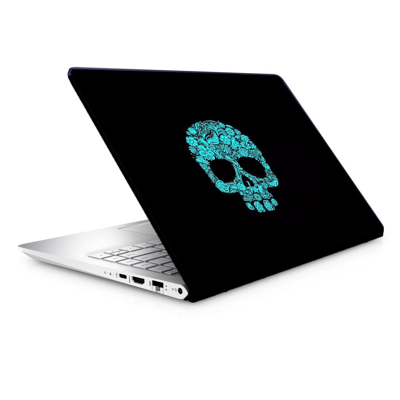 استیکر لپ تاپ طرح اسکلت مدل TIE342 مناسب برای لپ تاپ 15.6 اینچ