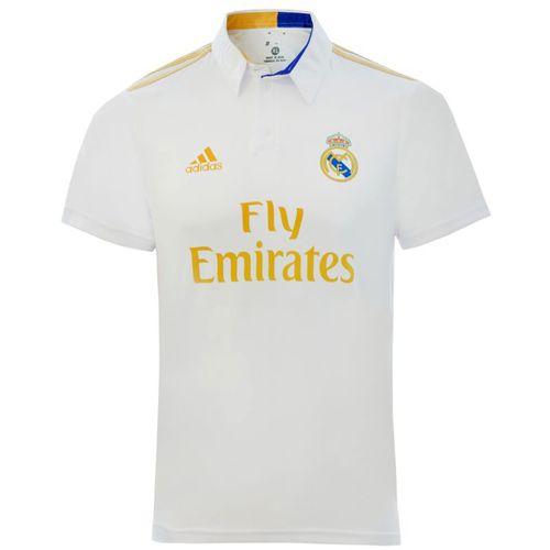 پلو شرت ورزشی مردانه طرح رئال مادرید کد 2019