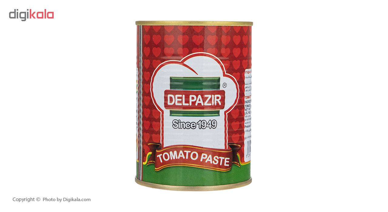 رب گوجه فرنگی دلپذیر مقدار 400 گرم