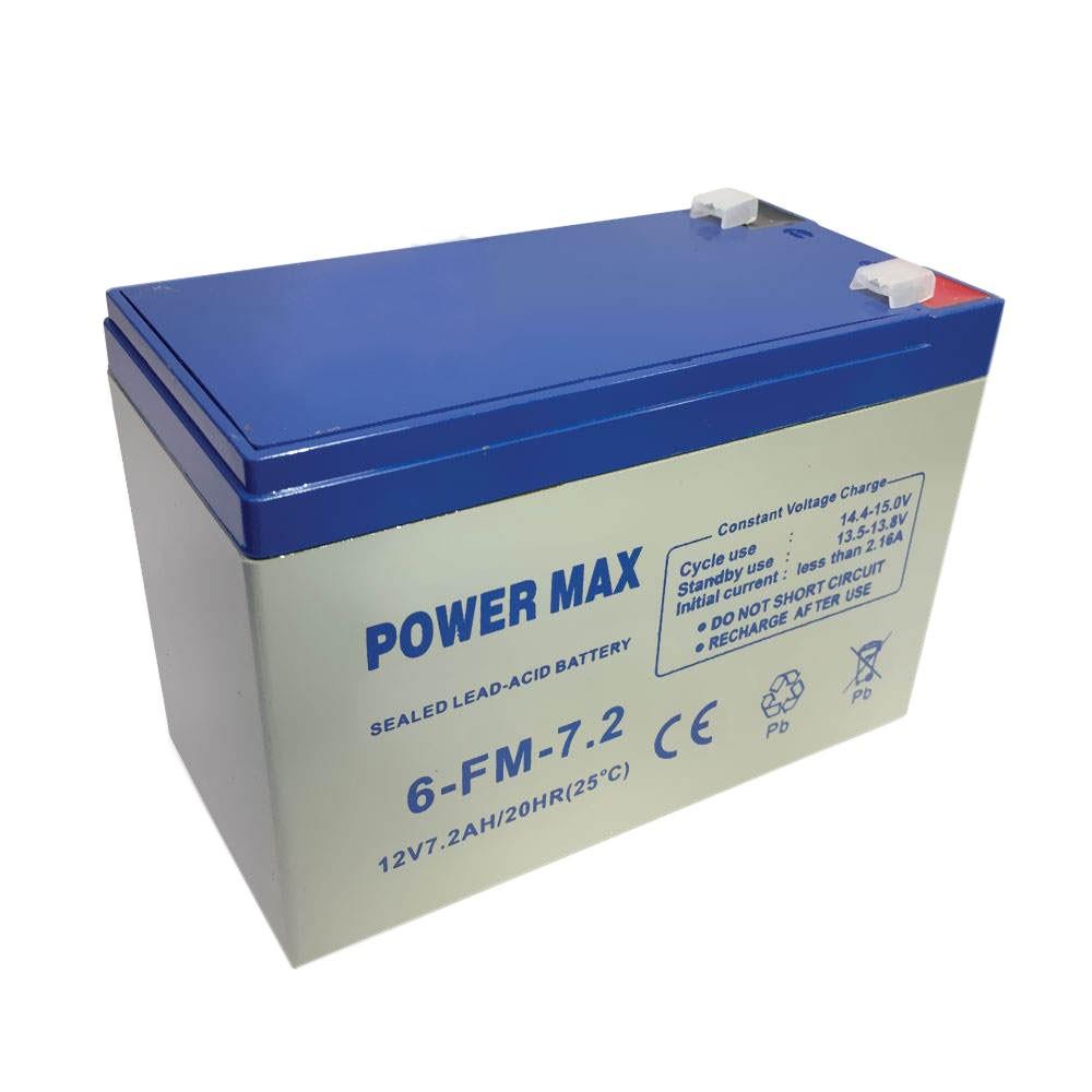 باتری 12 ولت 7.2 آمپر پاور مکس مدل 6-FM-7.2