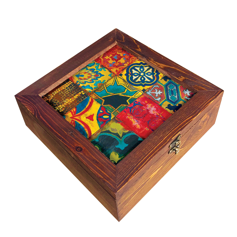 جعبه هدیه چوبی کد  SD-31