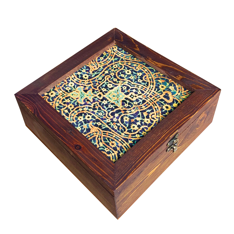 خرید                      جعبه هدیه چوبی کد  SD-04