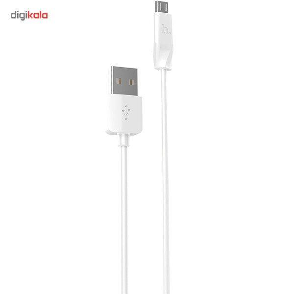 کابل تبدیل USB به microUSB هوکو مدل X1 Rapid طول 1 متر main 1 1