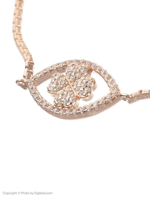 دستبند نقره زنانه فولی فولیه مدل 3B18S012RC