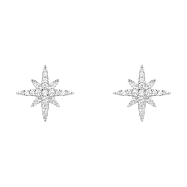 گوشواره نقره زنانه فولی فولیه مدل 3E15S140C