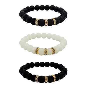 دستبند زنانه کد mp142 مجموعه 3 عددی