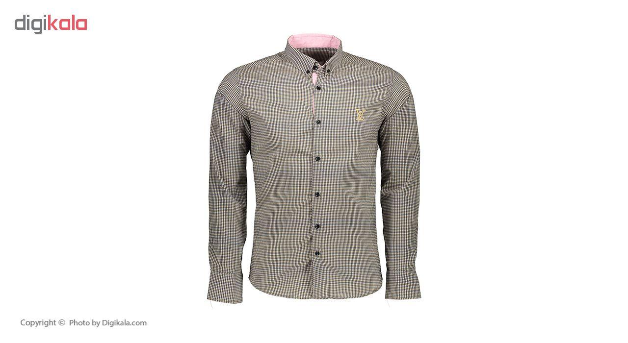 پیراهن آستین بلند مردانه کد M02158