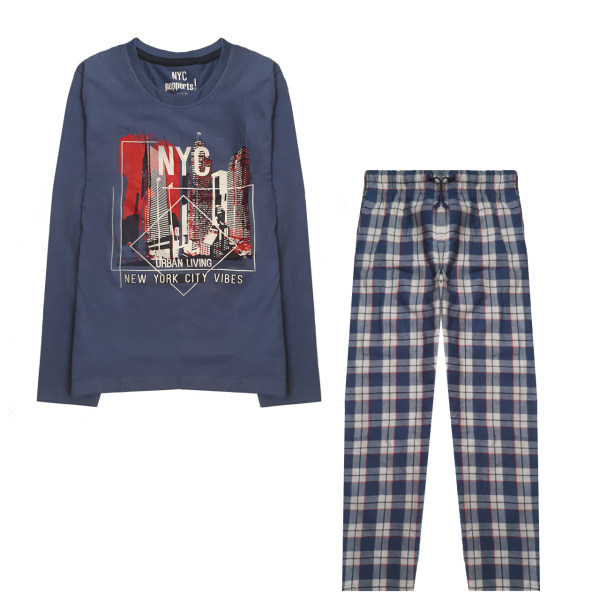 ست تی شرت و شلوار پسرانه پیپرتس کد PJUNPYJ1