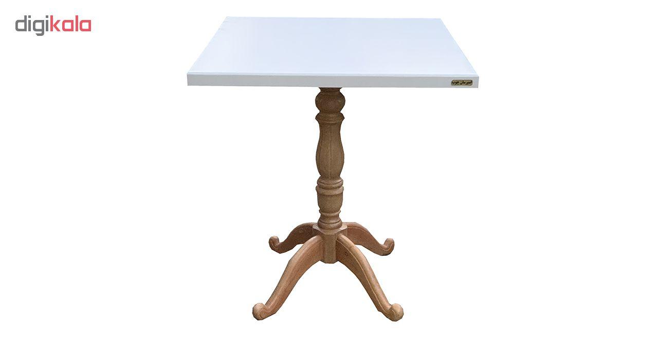 میز ناهارخوری اسپرسان چوب کد ML13