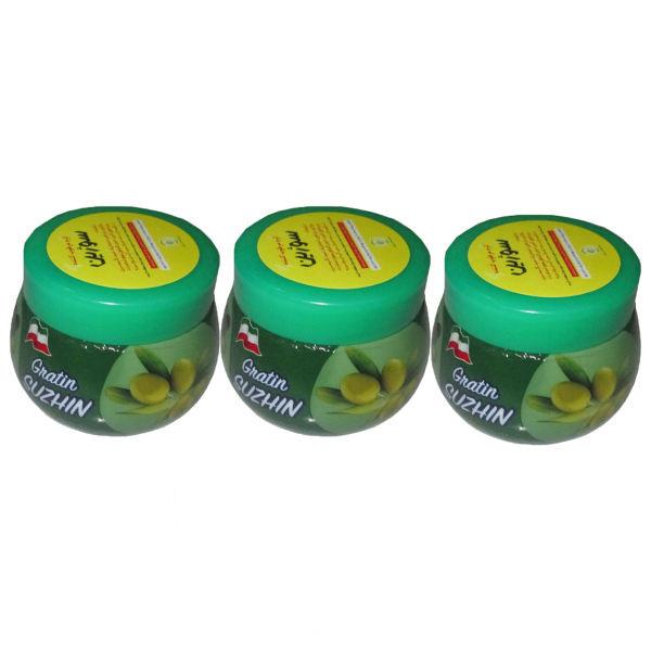 کرم مرطوب کننده سوژین مدل Olive حجم 180 میلی لیتر مجموعه 3 عددی