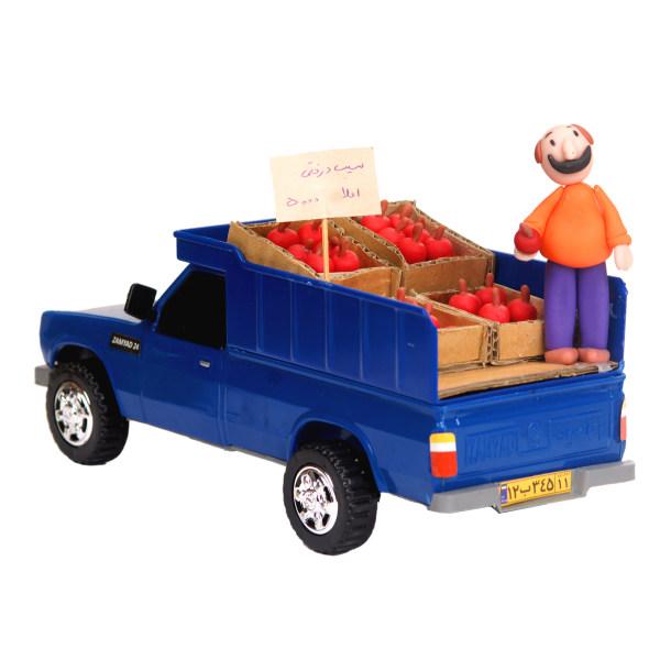 ماشین بازی طرح نیسان میوه فروش کد 07