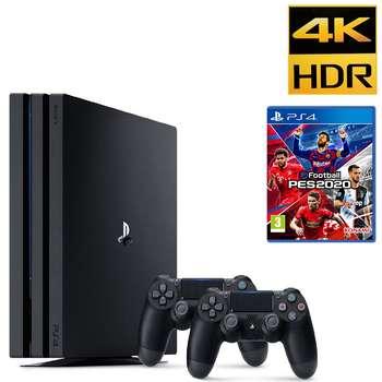 مجموعه کنسول بازی سونی مدل Playstation 4 Pro  ریجن 2 کد CUH -7216B ظرفیت 1 ترابایت