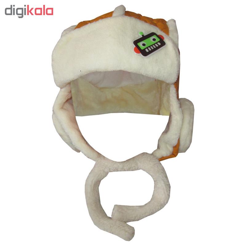 کلاه پسرانه کد KH-AA-20351 رنگ خردلی