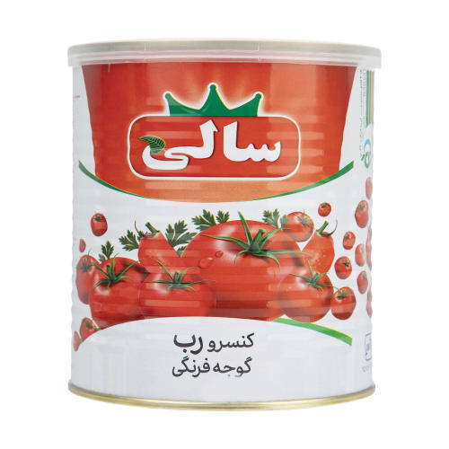 کنسرو رب گوجه فرنگی سالی مقدار 800 گرم