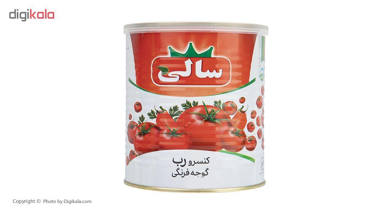کنسرو رب گوجه فرنگی سالی - 800 گرم main 1 1