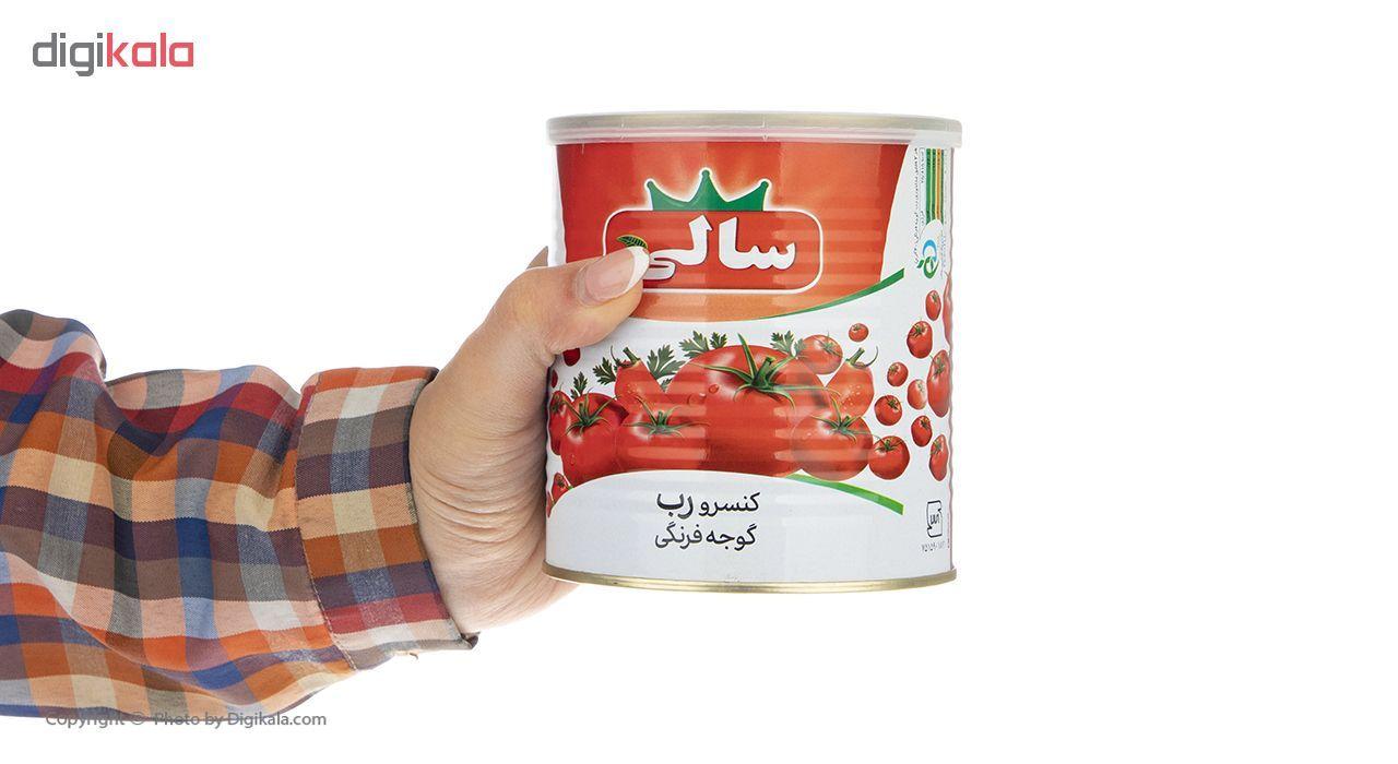 کنسرو رب گوجه فرنگی سالی - 800 گرم main 1 4