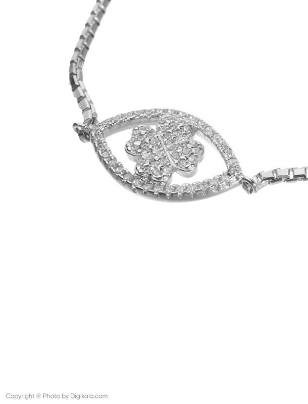دستبند نقره زنانه فولی فولیه مدل 3B18S012C
