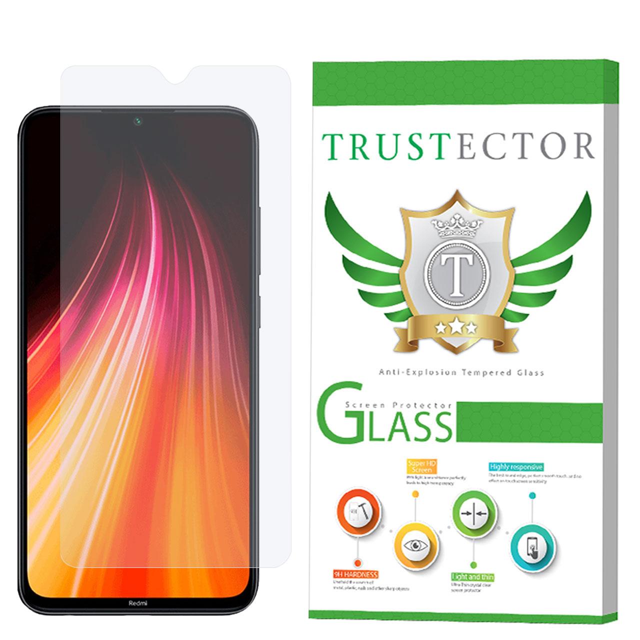 محافظ صفحه نمایش تراستکتور مدل GLS مناسب برای گوشی موبایل شیائومی Redmi Note 8