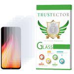 محافظ صفحه نمایش تراستکتور مدل GLS مناسب برای گوشی موبایل شیائومی Redmi Note 8 بسته 5 عددی thumb