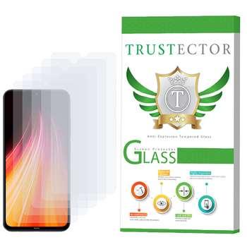 محافظ صفحه نمایش تراستکتور مدل GLS مناسب برای گوشی موبایل شیائومی Redmi Note 8 بسته 5 عددی
