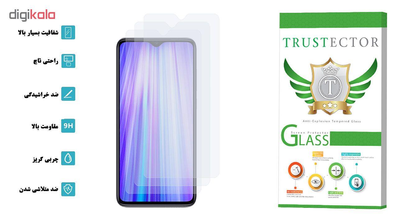 محافظ صفحه نمایش تراستکتور مدل GLS مناسب برای گوشی موبایل شیائومی Redmi Note 8 Pro بسته 3 عددی main 1 2